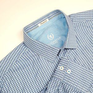 Bugatchi Uomo Geometric Shaped Fit Button Down XL